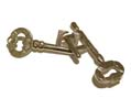 "Mini ""Linked Keys"" Puzzle - Metal Brain Teaser"
