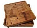 Solid Pentominoes - Wood Puzzle