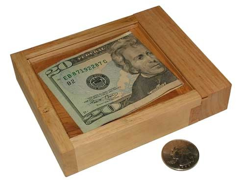 Cash-Out Money Puzzle Box