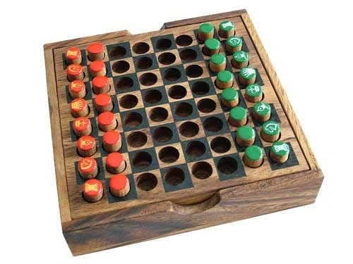 Wooden Travel Chess Game